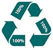 recycling 3 x 100%