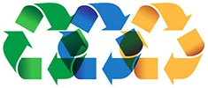 recycling 3x (reallocated, 3 colors)