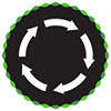 recycling (5 arrows wheel)