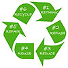 recycling - 6 steps