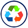 recycling (6 colors, rounded)