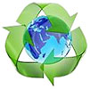 recycling around planet