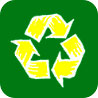 recycling (art manner button)
