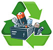 recycling batteries (any kind)