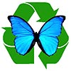 recycling butterfly