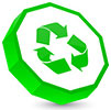 recycling (decagon plate)