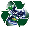 recycling Earth (stylish)