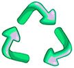 recycling (flexible arrows)