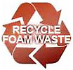 RECYCLE FOAM WASTE