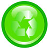 recycling (green-glow button)