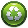 recycling green ball