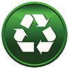 recycling green button