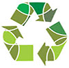 recycling green circles