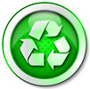 recycling soft-green button