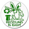 RECYCLING IS EASY! (fun decal)