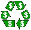 recycling is (green) money
