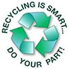 RECYCLING IS SMART... DO YOUR PART!