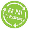 KA PAI TO RECYCLING - well done... (NZ)
