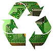 recycling logic boards