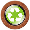 recycling (luxury button)