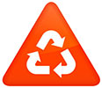 recycling mark triangle