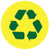 recycling (on yellow)