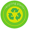 recycling plants (sign)