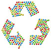 Punctual Recycling Clipart Symbol