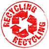 recycling (red stamp)