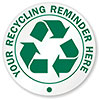 YOUR RECYCLING REMINDER HERE (doorsign)