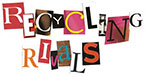 RECYCLING RIVALS (mixed letters text)