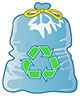 recycling sac (icon)