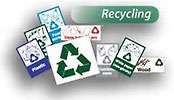 recycling (sign set)