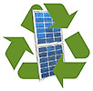 recycling solar panel