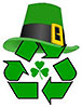 recycling St Patrick day (IE)