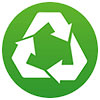 recycling symbol (free icon)