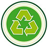 recycling target (green shiels)