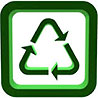 recycling triangle (boxed)