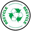 RECYCLING (twice, seal)