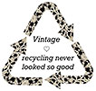 Vintage [love] recycling never looked so good