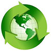 recykling green world