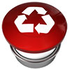 red recycling pushbutton