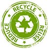 reduce-recycle-reuse (green stamp)