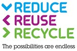 REDUCE REUSE RECYCLE - The possibilities are endless