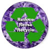 Reduce Reuse Recycle (sticker)