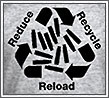 Reload Reduce Recycle (T-shirt print)