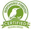 RESPONSIBLE FORESTRY CERTIFIED / SCS GLOBAL SERVICES