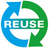 reuse (arrows)