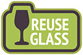 REUSE GLASS (VectorOpenStock)