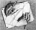 rewriting (Martin C. Escher)